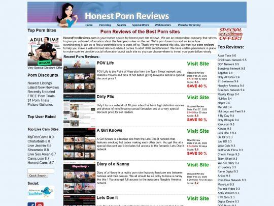 Honest Porn Reviews